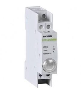 Signálka LED Noark Ex9PD1w 230V AC/DC bílá