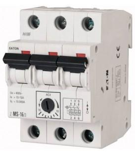 Motorový spouštěč EATON Z-MS-1,6/3 1-1,6A 248407