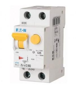 Proudový chránič s jističem EATON PFL7-25/1N/003/B 25A 30mA AC PFL7-25/1N/B/003 263546