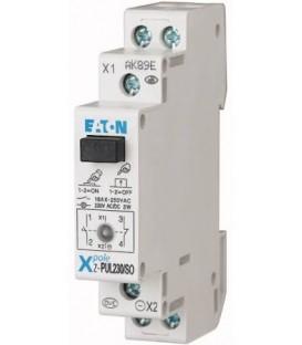 Modulové tlačítko EATON Z-PUL230/SO s LED signálkou 1NO+1NC 16A 276298