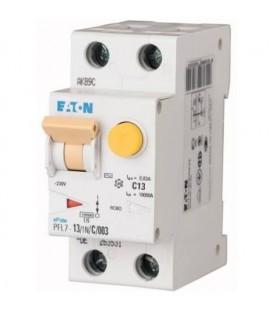 Proudový chránič s jističem EATON PFL7-13/1N/003/B 13A 30mA AC PFL7-13/1N/B/003 263518