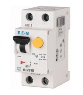 Proudový chránič s jističem EATON PFL6-16/1N/C/003 16A 30mA AC 286467