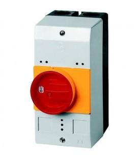 Skříň pro motorový spouštěč EATON CI-PKZ0-GRM červeno/žlutá rukojeť IP55 260104