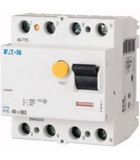 Proudový chránič EATON PF7-100/4/03 100A 300mA AC 102927
