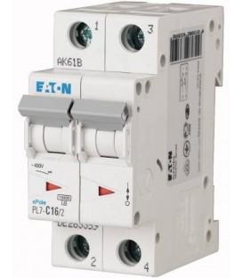 Jistič EATON PL7-16/2/C-DC 16A PL7-C16/2-DC 264902