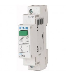 Modulové tlačítko EATON Z-PUL230/OO s LED signálkou 2NC 16A 276299