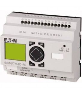 Řídicí reléový PLC modul EATON EASY719-DC-RC 24VDC 12 vstupů / 6 výst. relé 274119