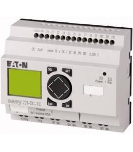 Řídicí reléový PLC modul EATON EASY721-DC-TC 24VDC 12 vstupů / 8 výst. tranzistor 274121