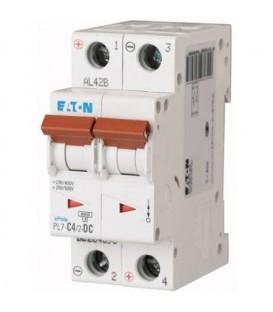 Jistič EATON PL7-4/2/C-DC 4A PL7-C4/2-DC 264898