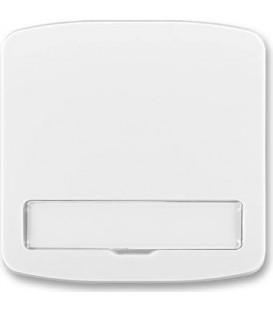 ABB Tango kryt vypínače s popisovým polem bílá 3558A-A00620 B
