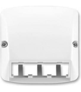 ABB Tango kryt zásuvky komunikační (Panduit Mini-Com) bílá 5014A-A00410 B