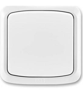 ABB Tango tlačítko č.6/0 IP44 bílá 3558A-86940 B