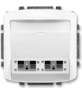 ABB Tango kryt zásuvky komunikační (pro prvky R M freenet) bílá 5014A-A00420 B