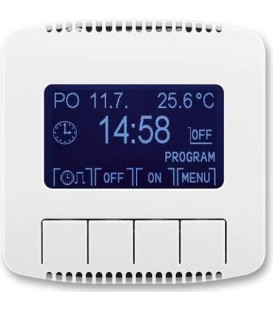 ABB Tango spínací hodiny programovatelné (ovládací jednotka) bílá 3292A-A20301 B