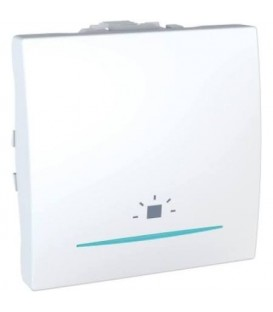 Schneider Unica tlačítko se symbolem světlo a orientační kontrolkou č.1/0So polar MGU3.206.18LN