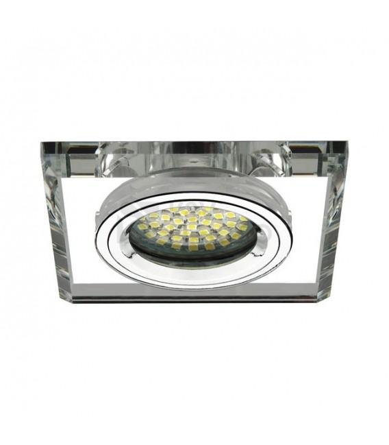 Podhledové svítidlo Kanlux MORTA CT-DSL50-SR stříbrná 12V 50W Gx5,3 18512