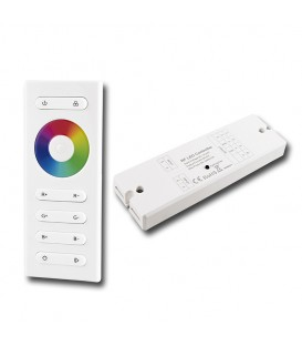 RF dálkové ovládání McLED pro RGB LED pásky, sada ovladač - přijímač