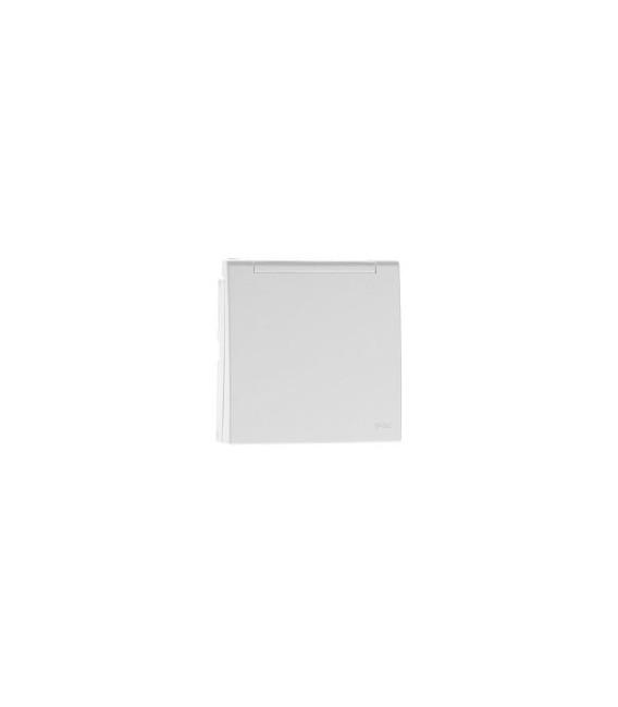 Efapel LOGUS 90 sklopné víčko IP44 k zásuvce bílá 90654 TBR