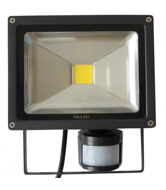 LED reflektor McLED Troll 20W 1500lm 4000K s čidlem