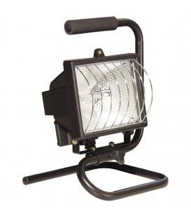 Halogenový reflektor Kanlux přenosný ELIOT ZW3-L500P-B černá 500W IP54 00620