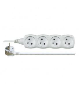 Prodlužovací kabel EMOS 3m/4zásuvky bílá P0413 1902040300
