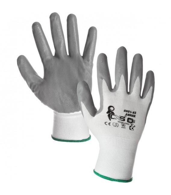 Pracovní rukavice ABRAK velikost 10