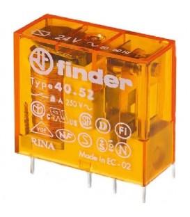 Spínací relé paticové Finder 2P/8A 230VAC 40.52.8.230.0000