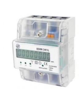 Elektroměr DTS 353-L 4,5mod. LCD,3F 80A, 1tarif /AM 031L/