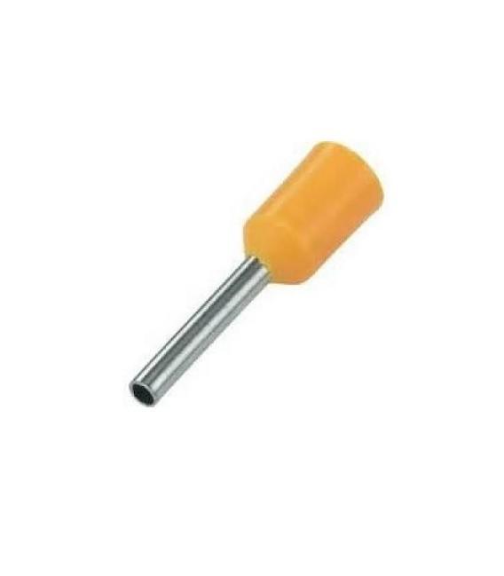 Lisovací dutinky oranžové GPH DI 0,5-8 průřez 0,5mm2 délka 8mm (500ks)