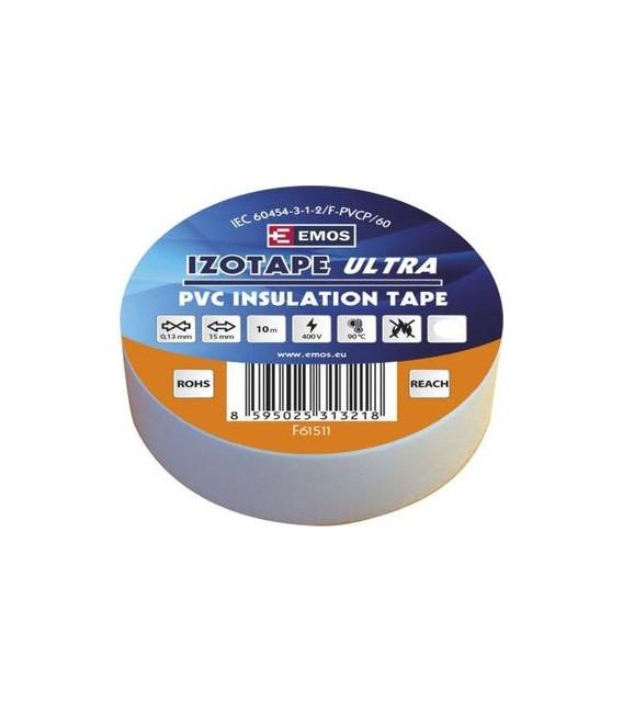 Izolační páska EMOS F61511 15mm x 10m bílá