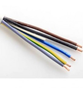 Kabel H05VV-F 5Gx1,5 bílá (CYSY 5Cx1,5)