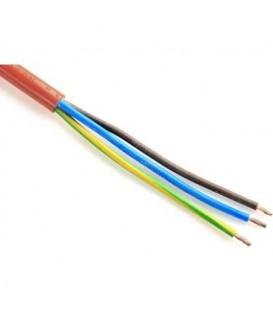 Kabel H05VV-F 3Gx1,5 oranžová (CYSY 3Cx1,5)