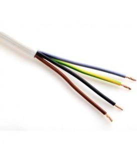 Kabel H05VV-F 4Gx1,5 bílá (CYSY 4Bx1,5)