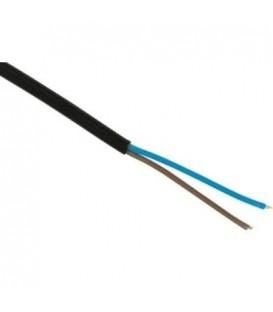 Kabel H05VV-F 2x1,5 černá (CYSY 2Dx1,5)