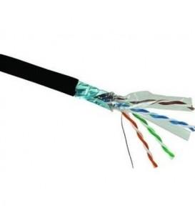 FTP kabel Solarix SXKD-5E-FTP-PE černý venkovní