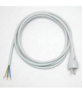Flexošňůra 3m 863159-3-54/3 3x1,5 H05VV-F bílá rovná