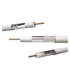 Koaxiální kabel KH 21D DIGI90Cu 11229.01 bílý