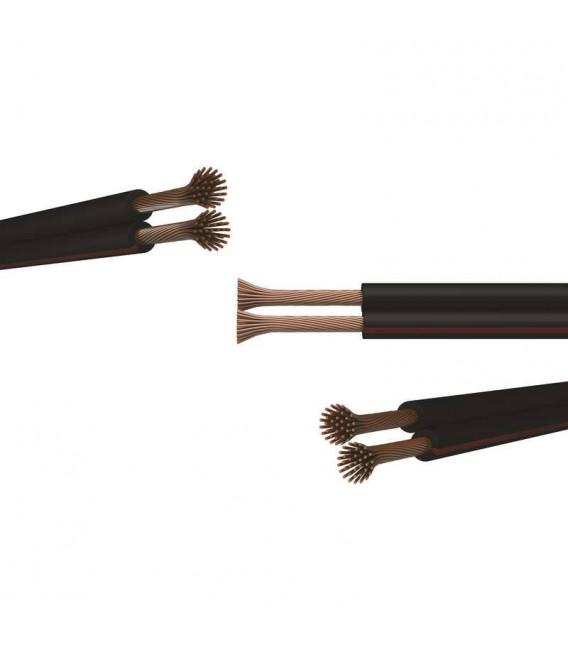 Kabel V03VH-H 2x0,50 dvojlinka černorudá (CYH)