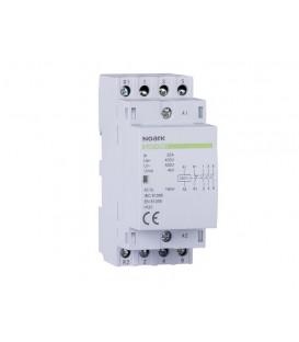 Instalační stykač Noark Ex9CH25 22 220/230V 50/60Hz 25A 2NC+2NO